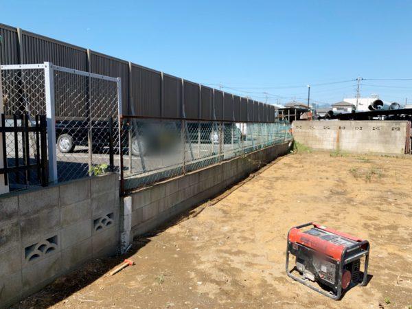 飯能市岩沢 外構・コンクリートブロック撤去工事を行いました。
