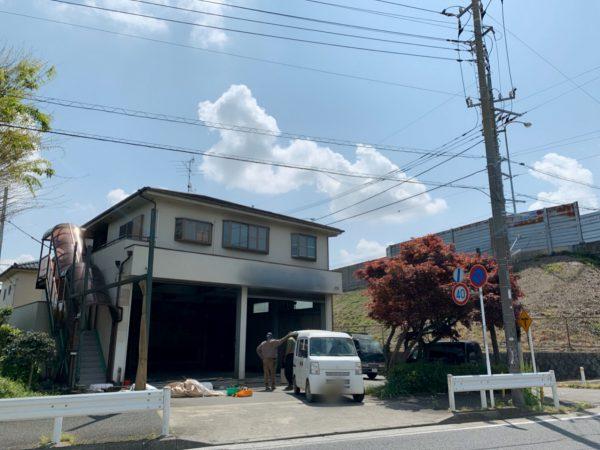 府中市小柳町 解体工事を行いました。
