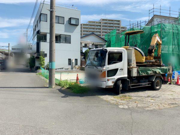 府中市本町 土間コンクリート撤去工事を行いました。