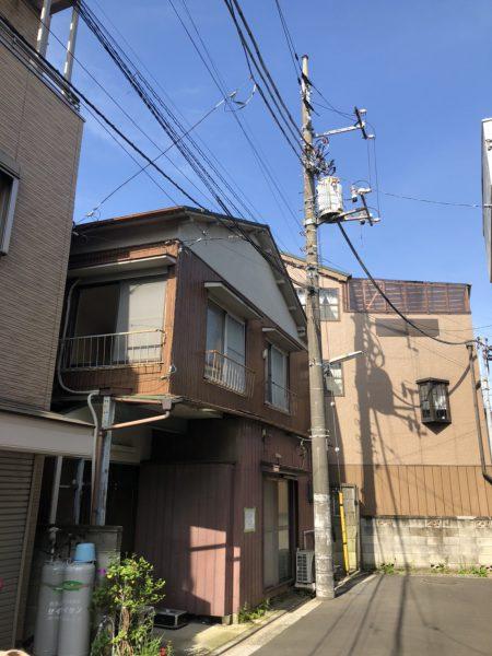 江戸川区上篠崎 解体工事を行いました。
