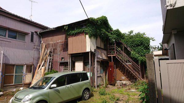 小平市上水南町 解体工事を行いました。
