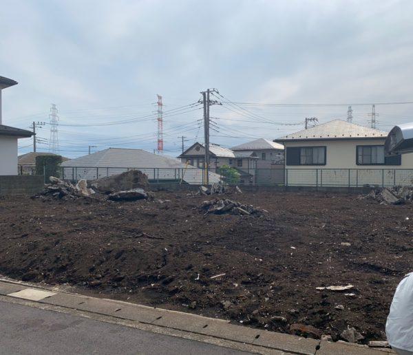 横浜市旭区南希望が丘 地中埋設撤去工事を行いました。