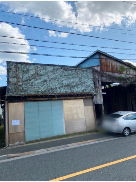 江戸川区東葛西 解体工事を行いました。