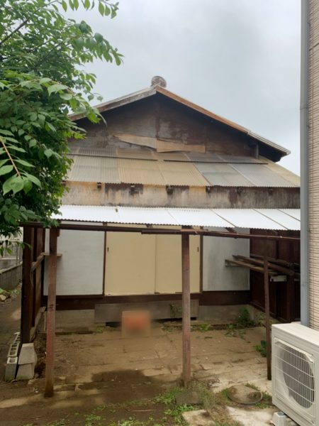 さいたま市西区土屋 小屋解体工事を行いました。