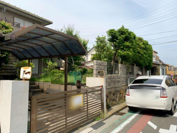 横浜市保土ヶ谷区法泉 解体工事を行いました。