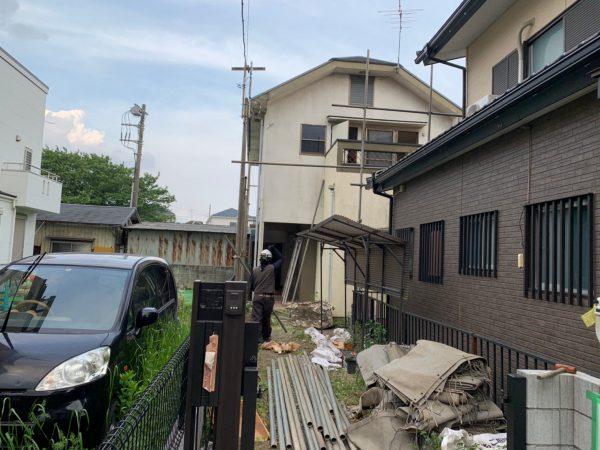 川越市岸町 解体工事を行いました。