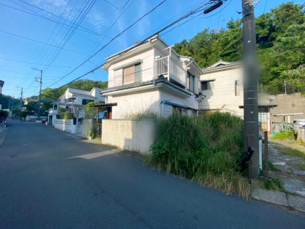 逗子市久木 解体工事を行いました。