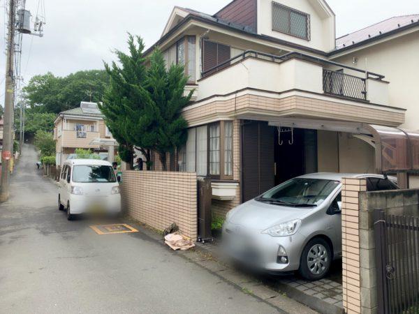 所沢市上安松 解体工事を行いました。