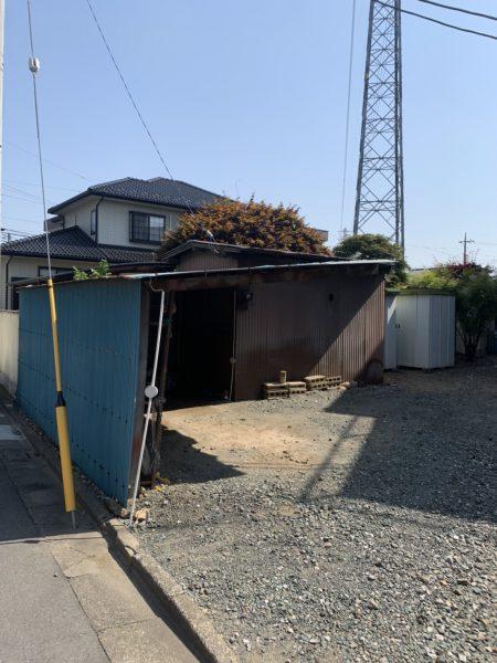 川越市仙波町 小屋解体工事を行いました。