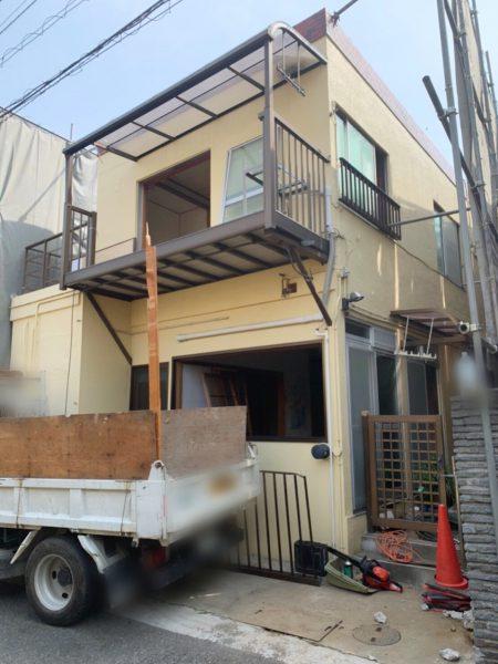 渋谷区猿楽町 解体工事を行いました。