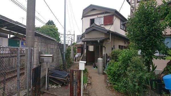 福生市熊川 解体工事を行いました。