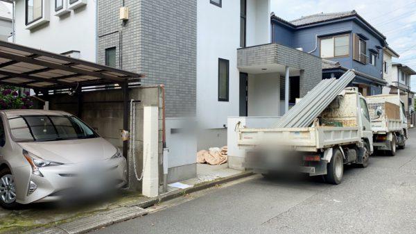 西東京市新町 解体工事を行いました。