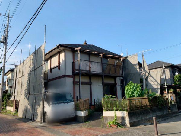川越市日東町 解体工事を行いました。