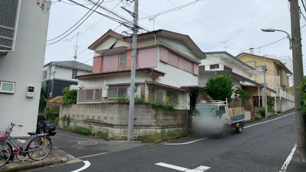 大田区久が原 解体工事を行いました。