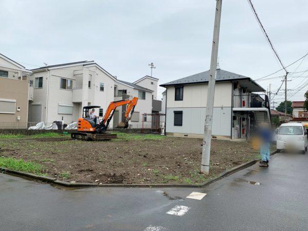志木市柏町 地中埋設物撤去工事を行いました。