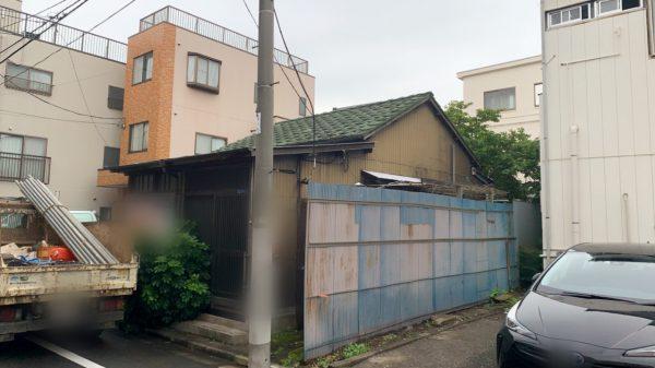江東区枝川 解体工事を行いました。