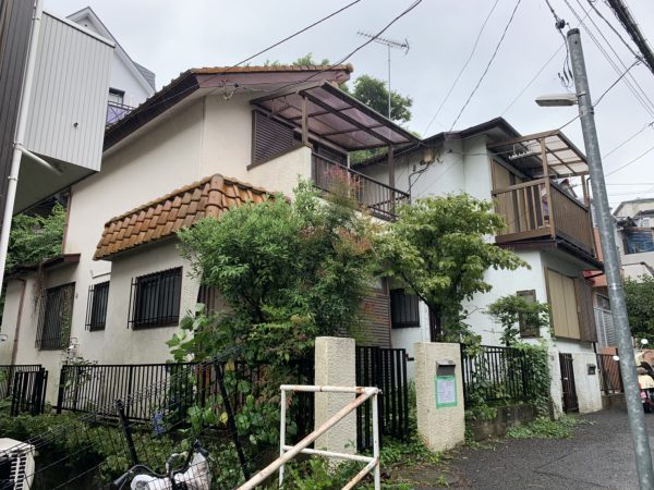 川崎市高津区下作延 解体工事を行いました。
