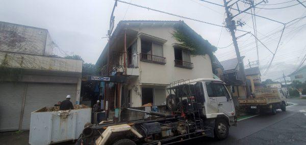 東村山市多摩湖町 解体工事を行いました。