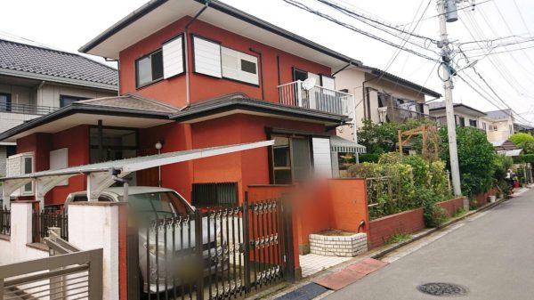 浦和市弁天 解体工事を行いました。