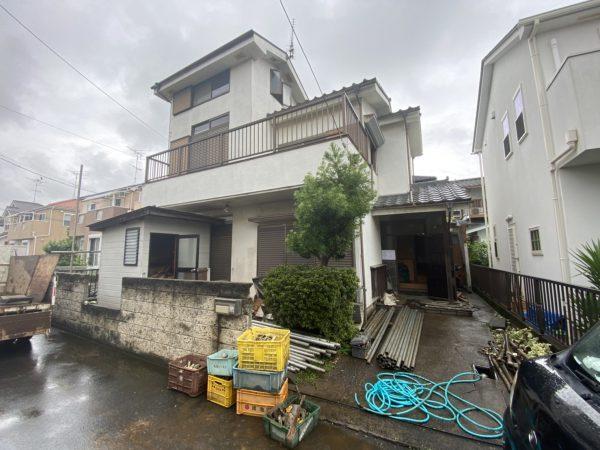 川越市南田島 解体工事を行いました。