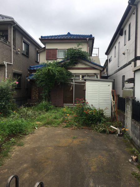 川越市寿町 解体工事を行いました。