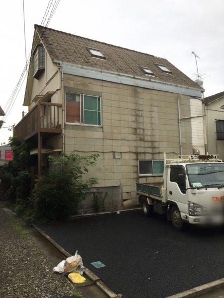 大田区中央 解体工事を行いました。
