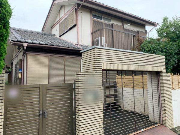 横浜市青葉区美しが丘 解体工事を行いました。