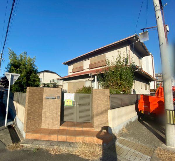 名古屋市瑞穂区中根 解体工事を行いました。