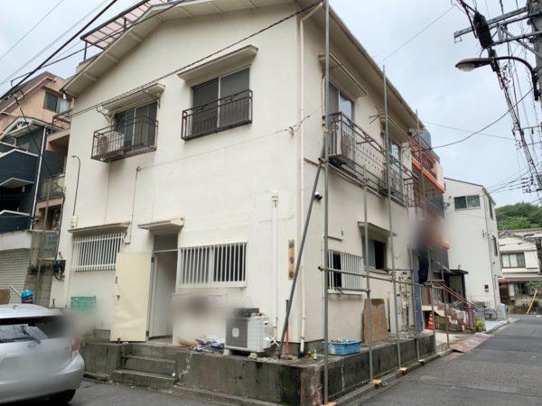新宿区西早稲田 解体工事を行いました。