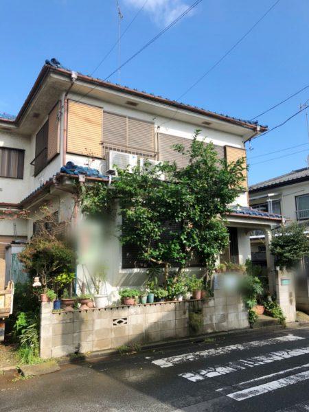 川越市砂新田 解体工事を行いました。