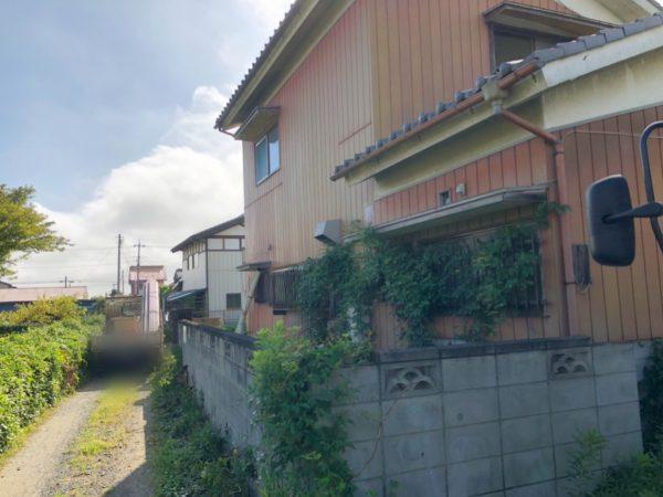 白岡市篠津 解体工事を行いました。