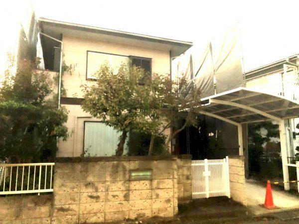 蓮田市椿山 解体工事を行いました。