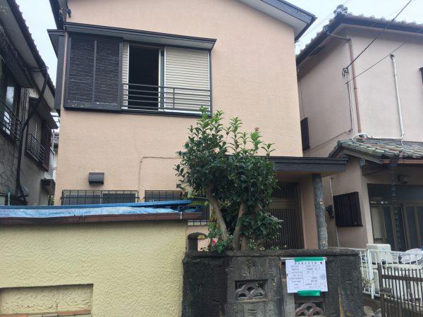 川口市木曽呂 解体工事を行いました。