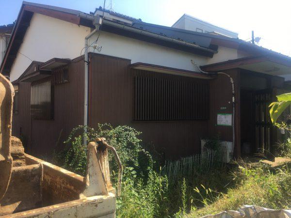 練馬区大泉学園町 解体工事を行いました。