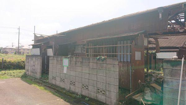 武蔵野市関前 解体工事を行いました。