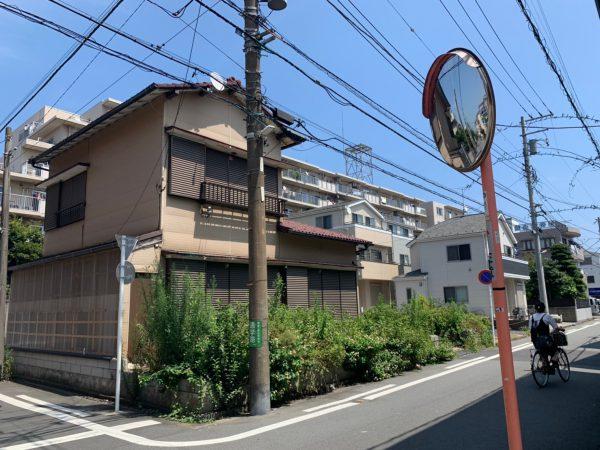 川崎市川崎区四谷上町 解体工事を行いました。