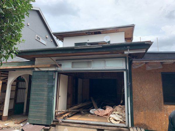 調布市深大寺北町 解体工事を行いました。