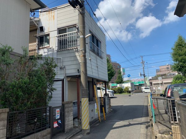川崎市幸区紺屋町 解体工事を行いました。