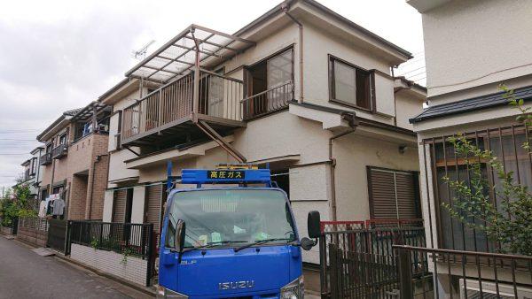 三芳町竹間沢 解体工事を行いました。