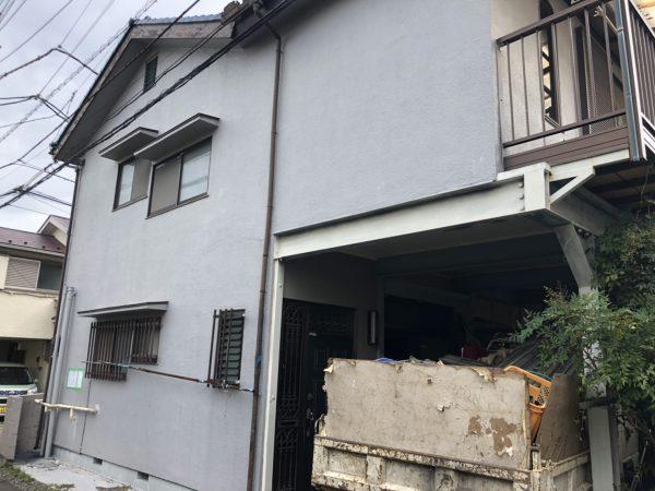 小平市小川町 解体工事を行いました。