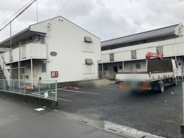 上尾市向山 解体工事を行いました。