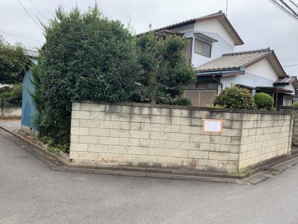 川越市広栄町 解体工事を行いました。