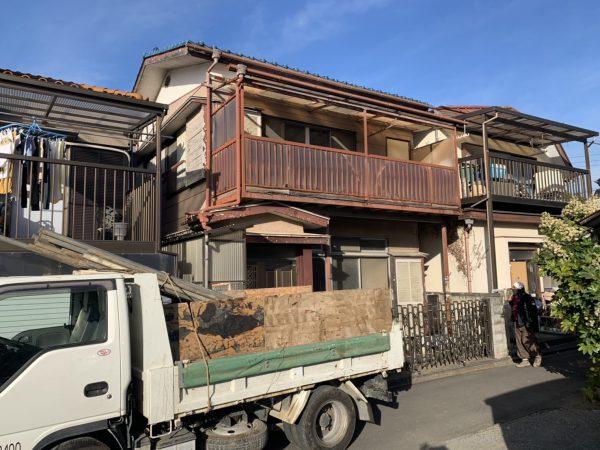 川越市郭町 解体工事を行いました。