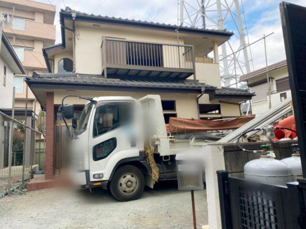 富士見市関沢 解体工事を行いました。