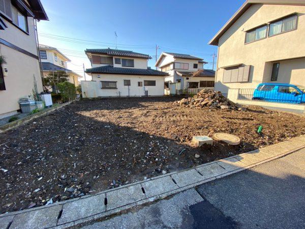 蓮田市桜台 地中埋設物撤去を行いました。