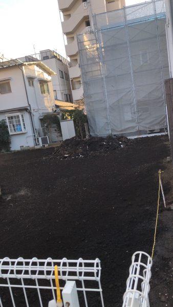 品川区平塚 地中埋設物撤去を行いました。