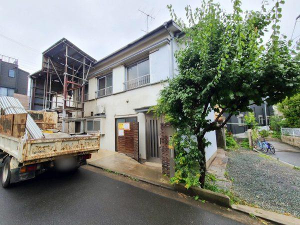 杉並区成田西 解体工事を行いました。
