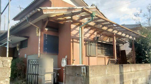 東大和市南街 解体工事を行いました。