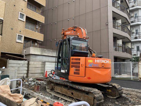 新宿区余丁町 解体工事を行いました。