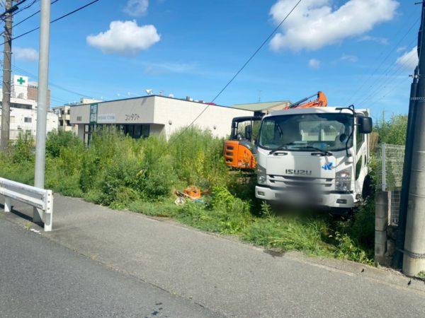 さいたま市浦和区上木崎 植栽撤去・ブロック撤去を行いました。